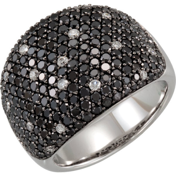 Black & White Diamond 3 CT TW Fashion Ring