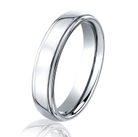 Cobalt Chrome Classic 5.0 MM Wedding Ring